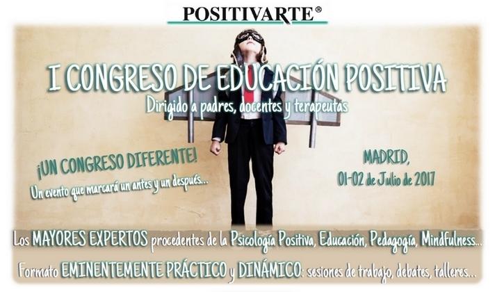 RRSS 1 - I Congreso de Educación Positiva - Psicología Positiva Aplicada a la Educación