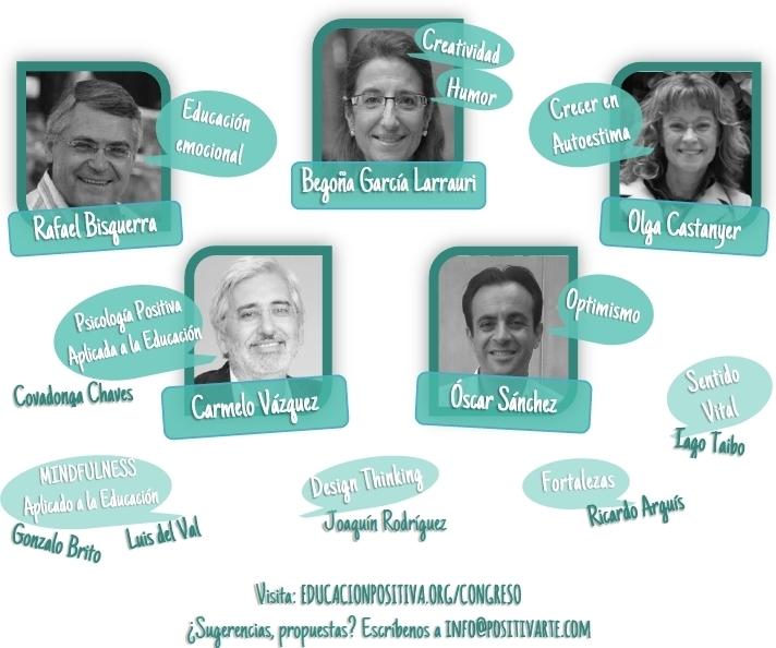 RRSS 2 - I Congreso de Educación Positiva - Psicología Positiva Aplicada a la Educación