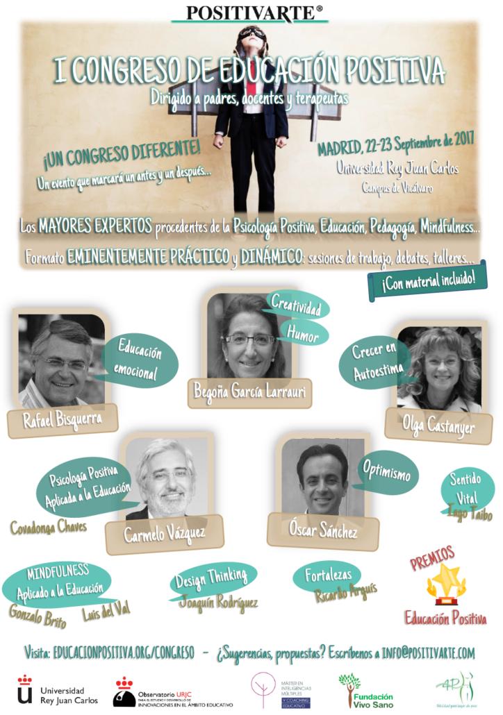 Madrid - I Congreso de Educación Positiva @ Universidad Rey Juan Carlos