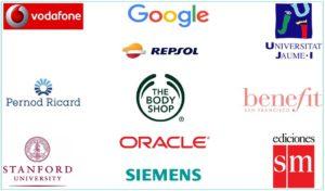 Empresas que han confiado en positivarte