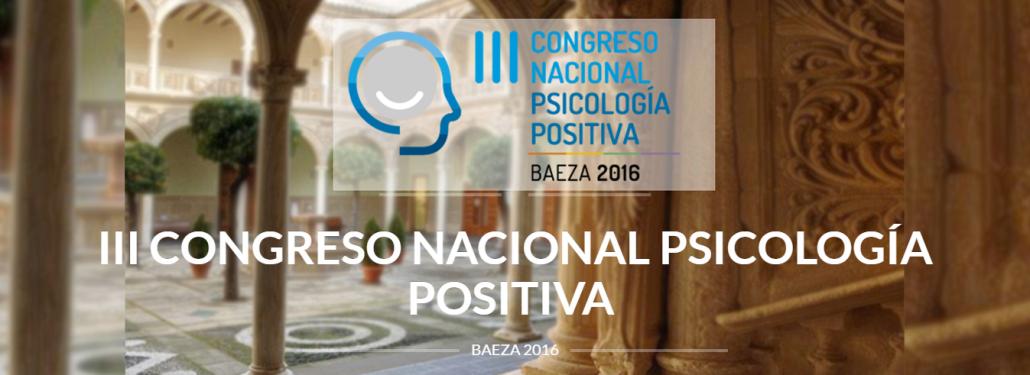 iii congreso de psicologia positiva