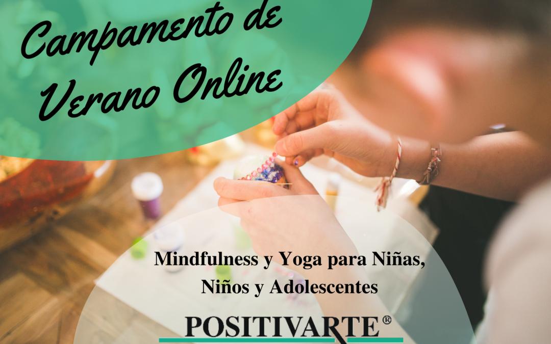 Curso de Verano online de Mindfulness y Yoga para Niños, Niñas y Adolescentes
