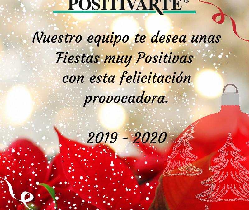 Felicitación de Navidad Provocadora | Positivarte Psicología Positiva