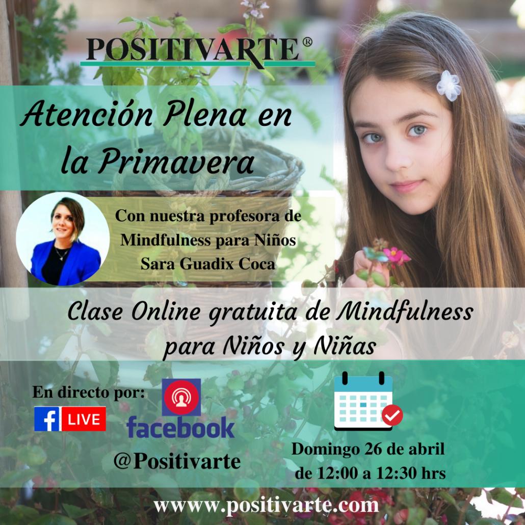 Clase online de Mindfulness para Niños